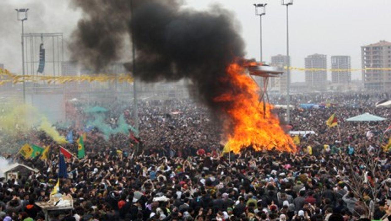 Newroz celebrations last year in Diyaribakir (wgauthier)