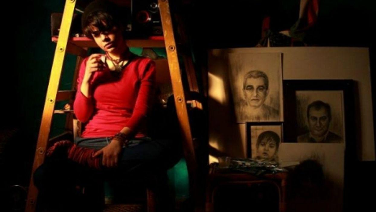 Nidaa Badwan in her room