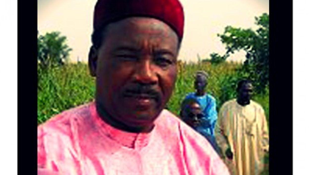 Niger's President Mahamadou Issoufou
