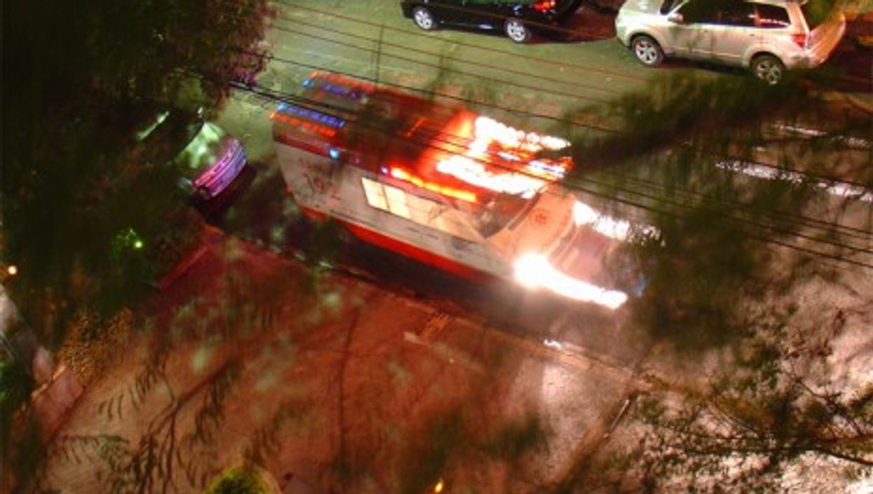 Nights are busy for São Paulo's ambulances