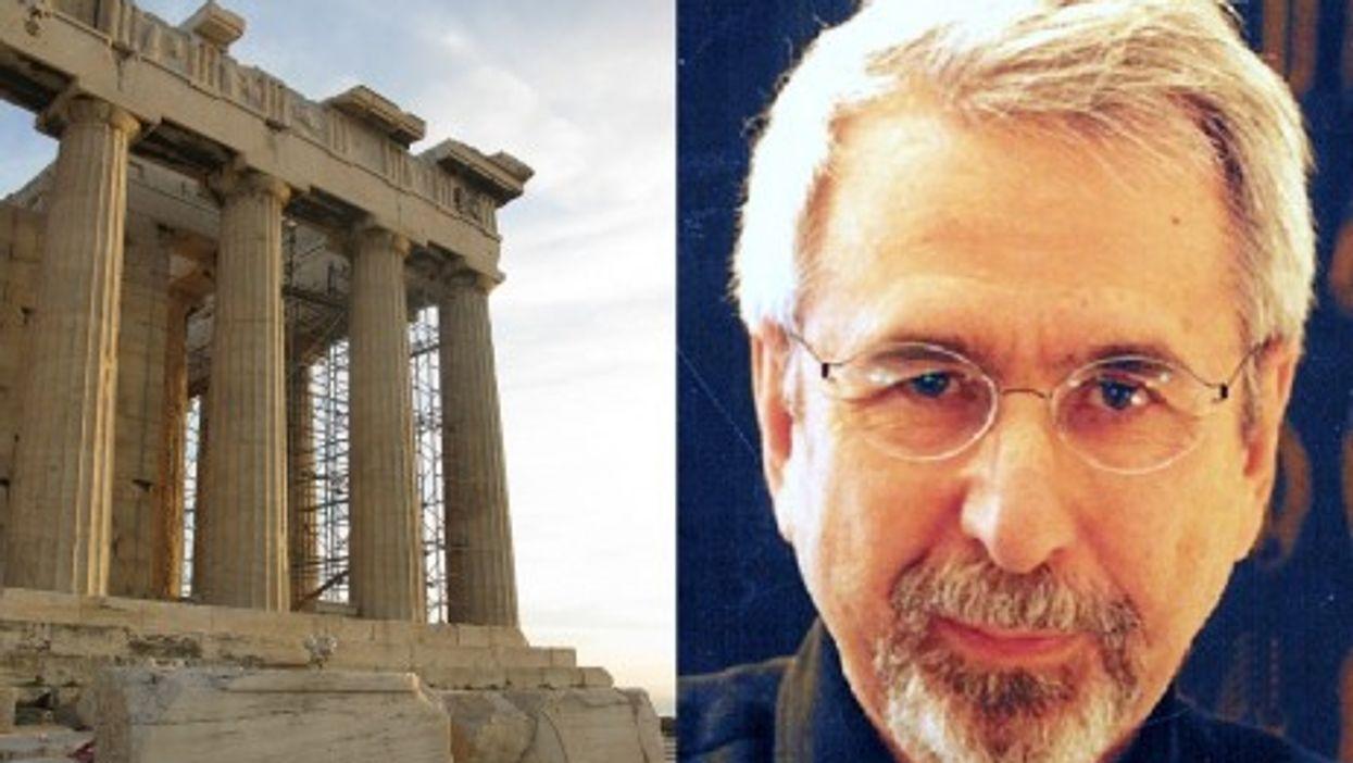 Nikos Dimou talks about the Greek need to mythologize their past (Drassi/Tilemahos)