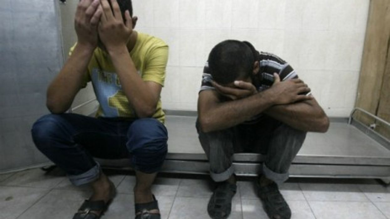Nine Palestinians, including seven Hamas militants, were killed overnight in air strikes over the Gaza Strip.
