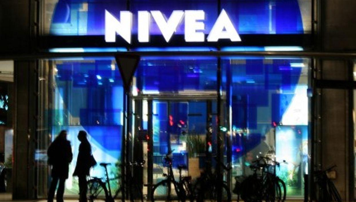 Nivea brand store in Hamburg, Germany
