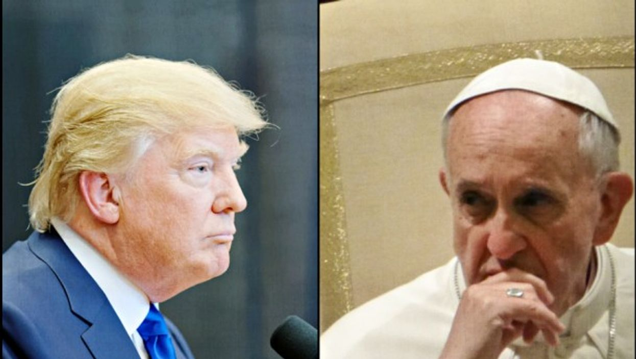 No pause for president or pope