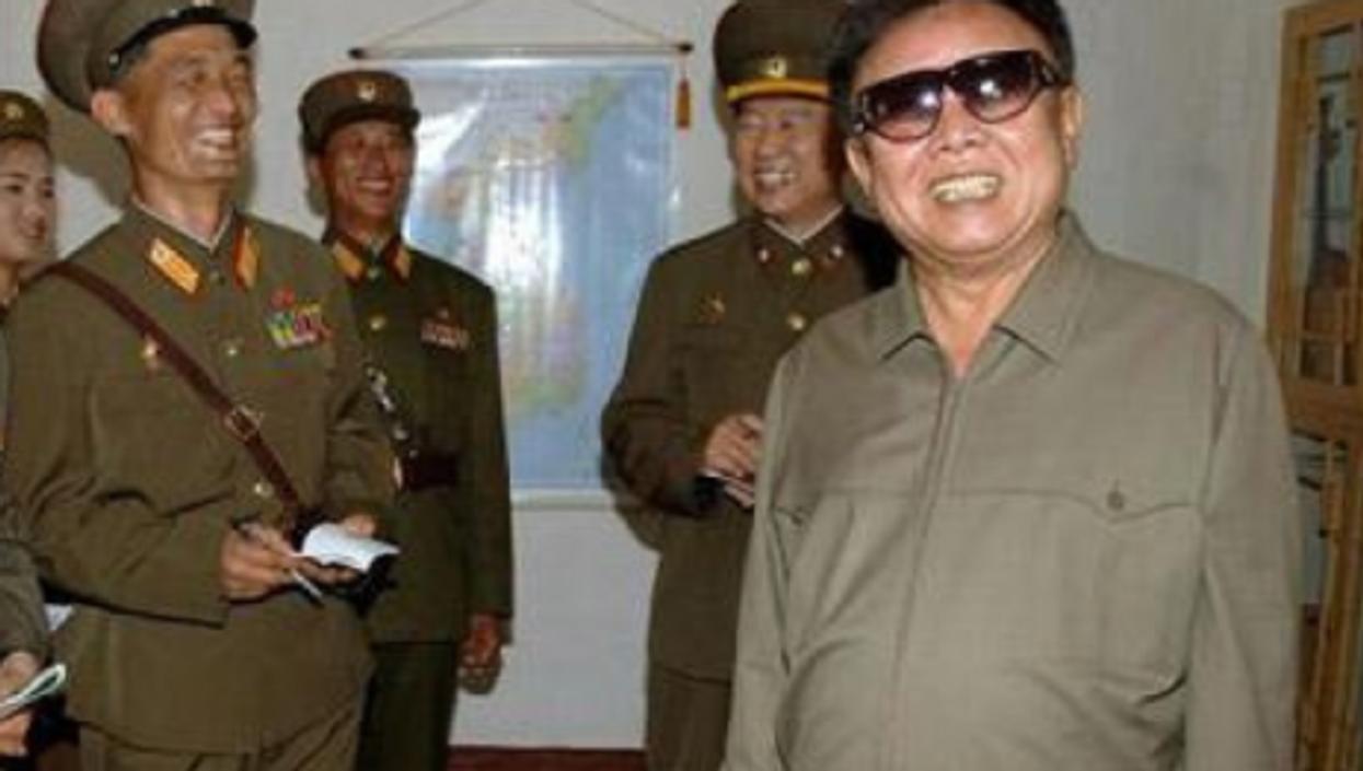 North Korean leader Kim Jung-il (babeltravel)