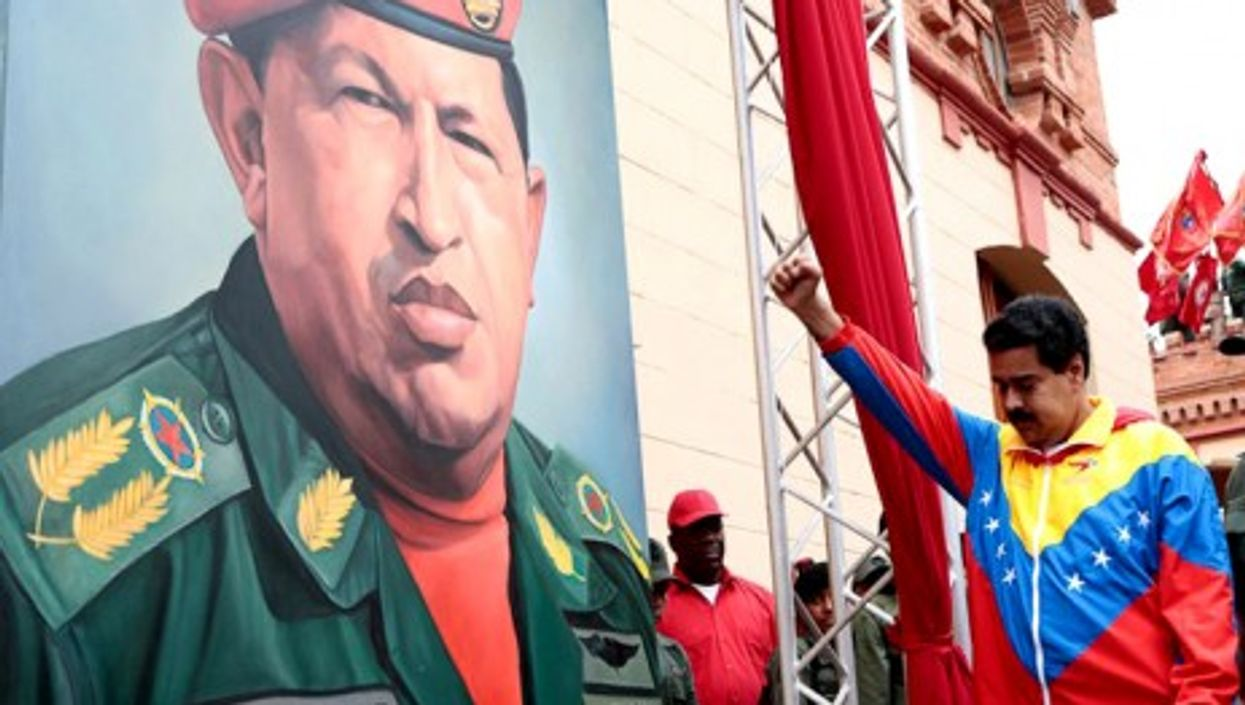 Not much breathing room between Hugo Chavez and Vice President Nicolas Maduro