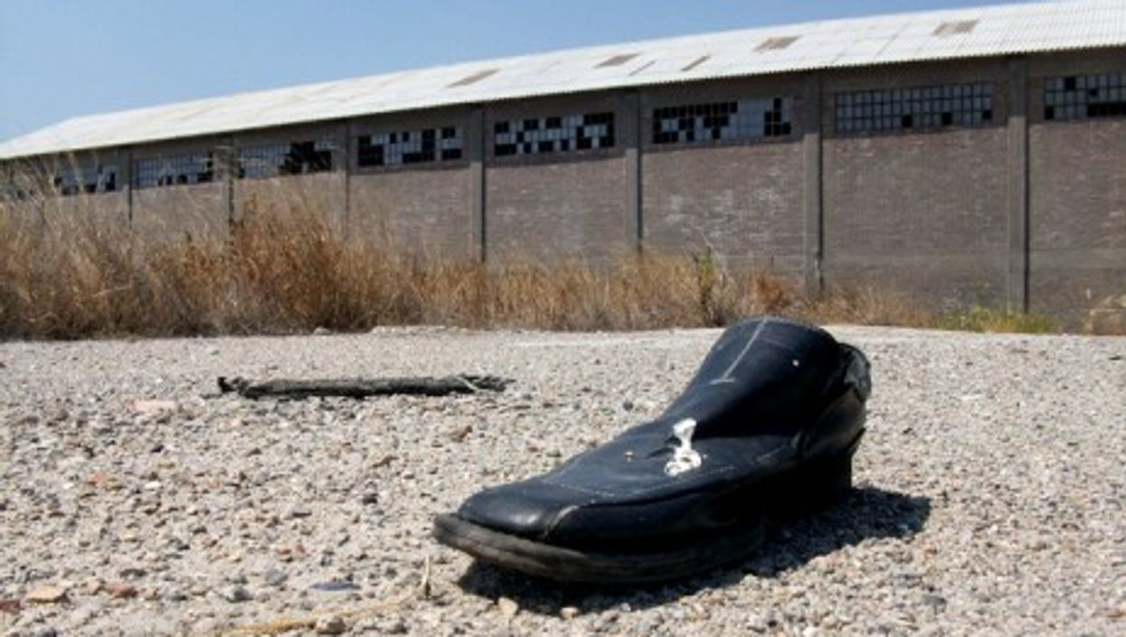 Not much left at the Montedison factory in Crotone (Revolweb)