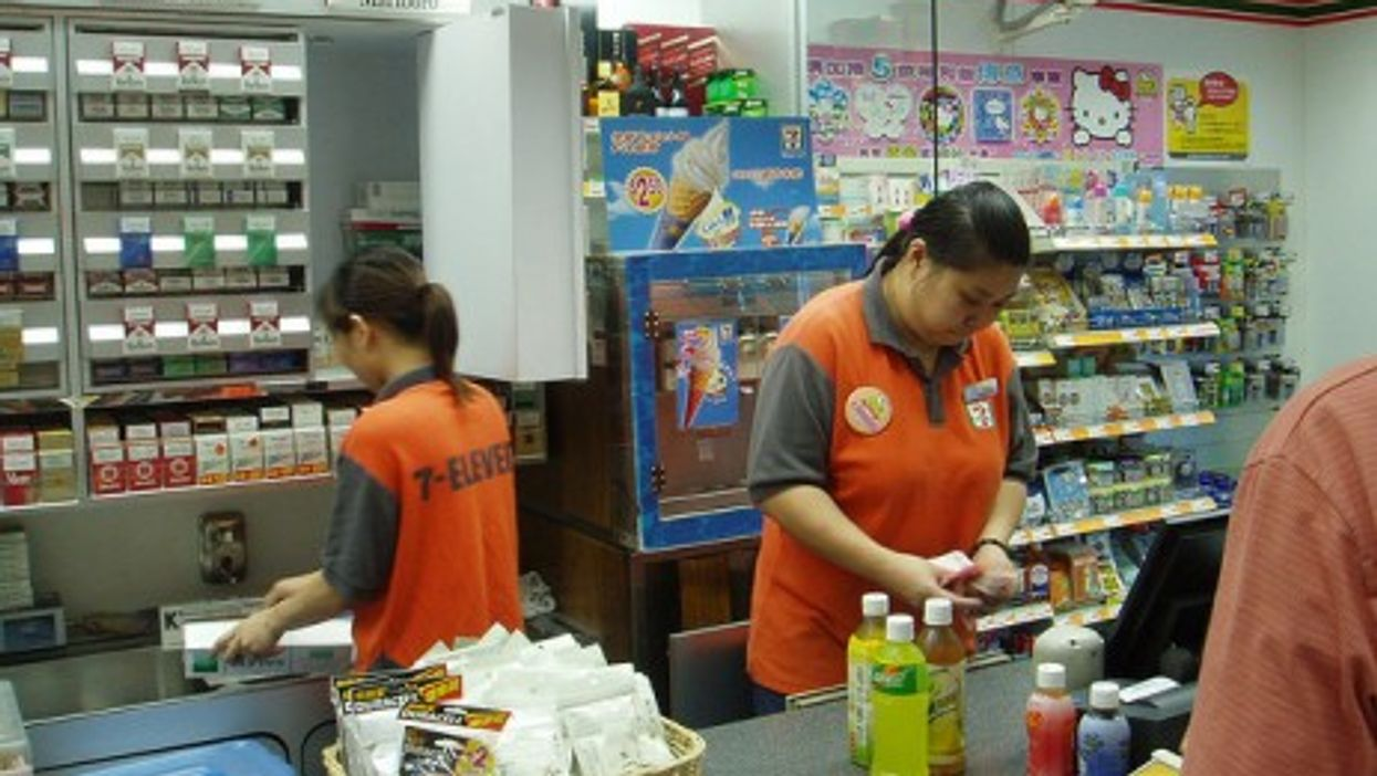 Now Japanese-owned, 7-11 is making inroads in China (Eric Chan)