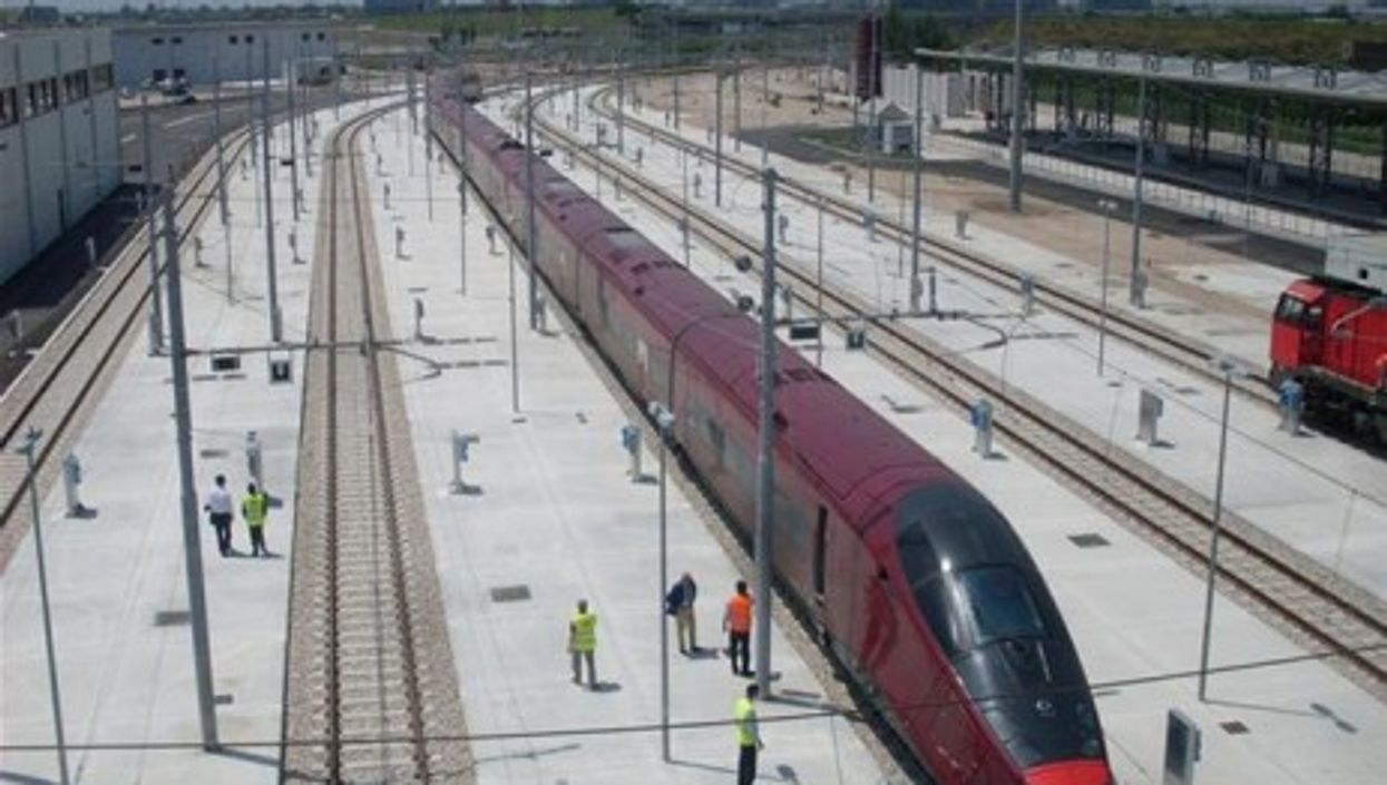 NTV's Italo, Italy's first private high-speed train (NTV)