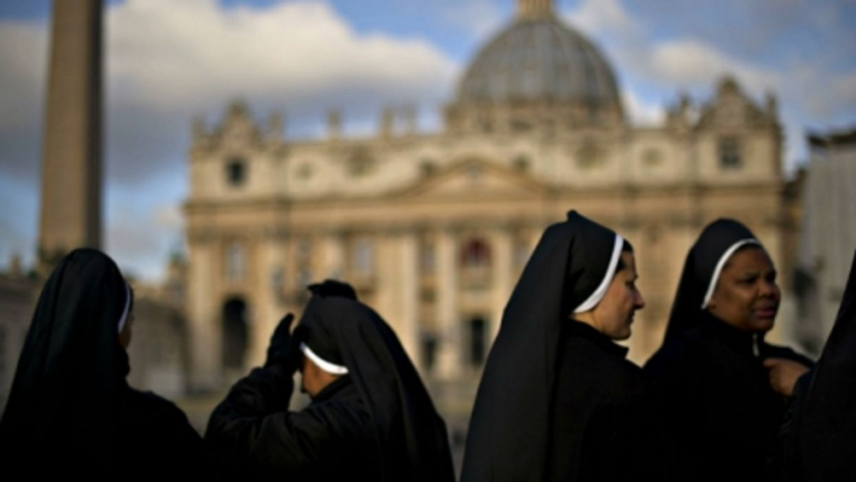 Nuns in St. Peter's Square