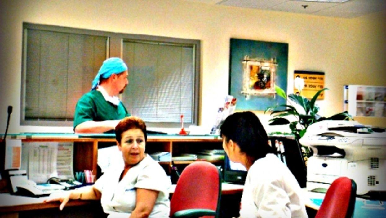 Nurses in Assuta Haifa hospital, Israel