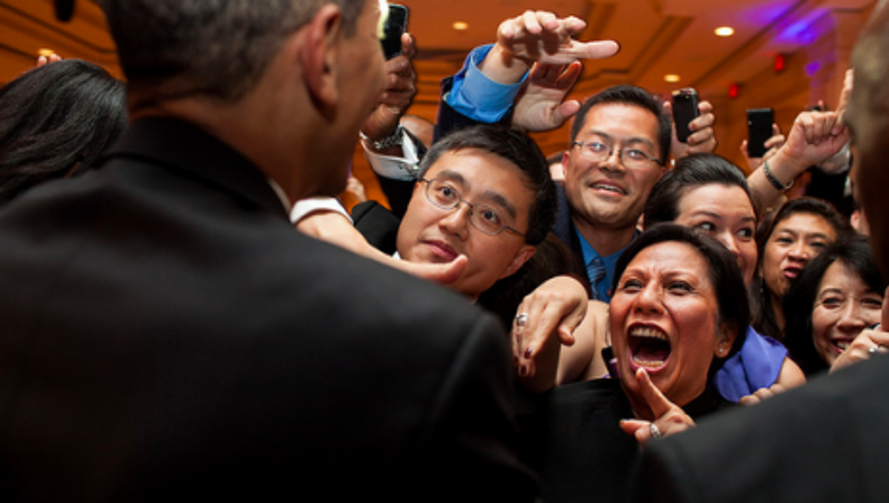 Obama at the Asian Pacific American Institute for Congressional Studies 18th Annual Gala Dinner
