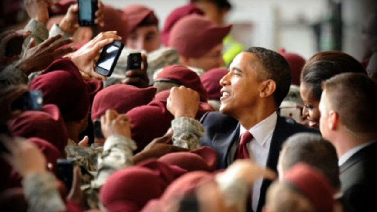 Obama's 'moment of success' speech at Fort Bragg
