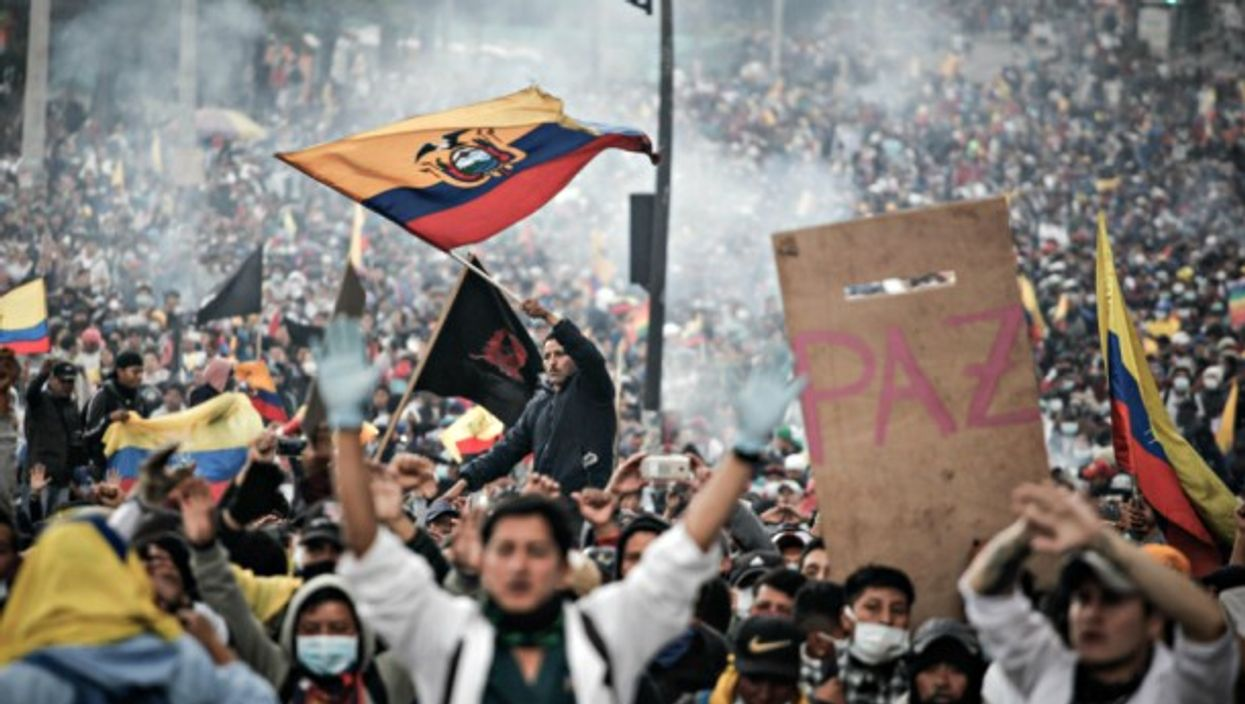 Oct. 11 protests in Quito