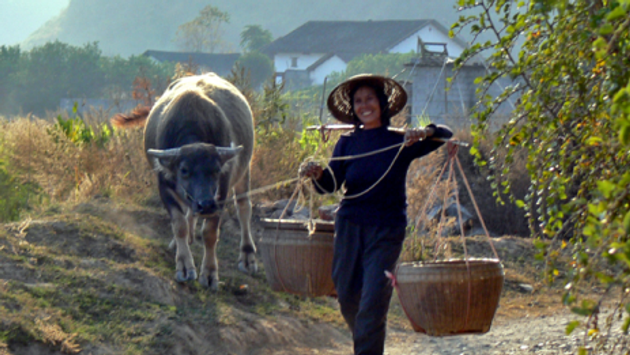 Old traditions die hard in rural China.