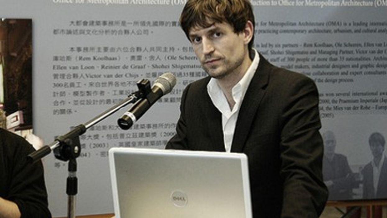 Ole Scheeren, China's new favorite architect