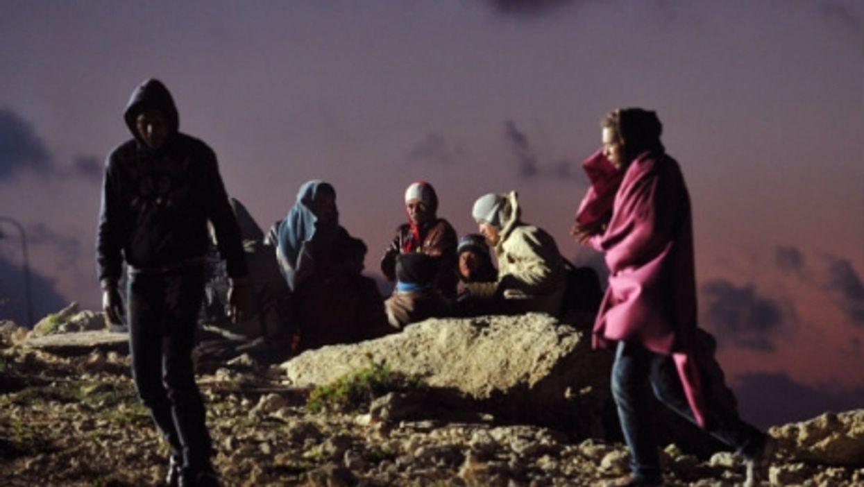 On Lampedusa