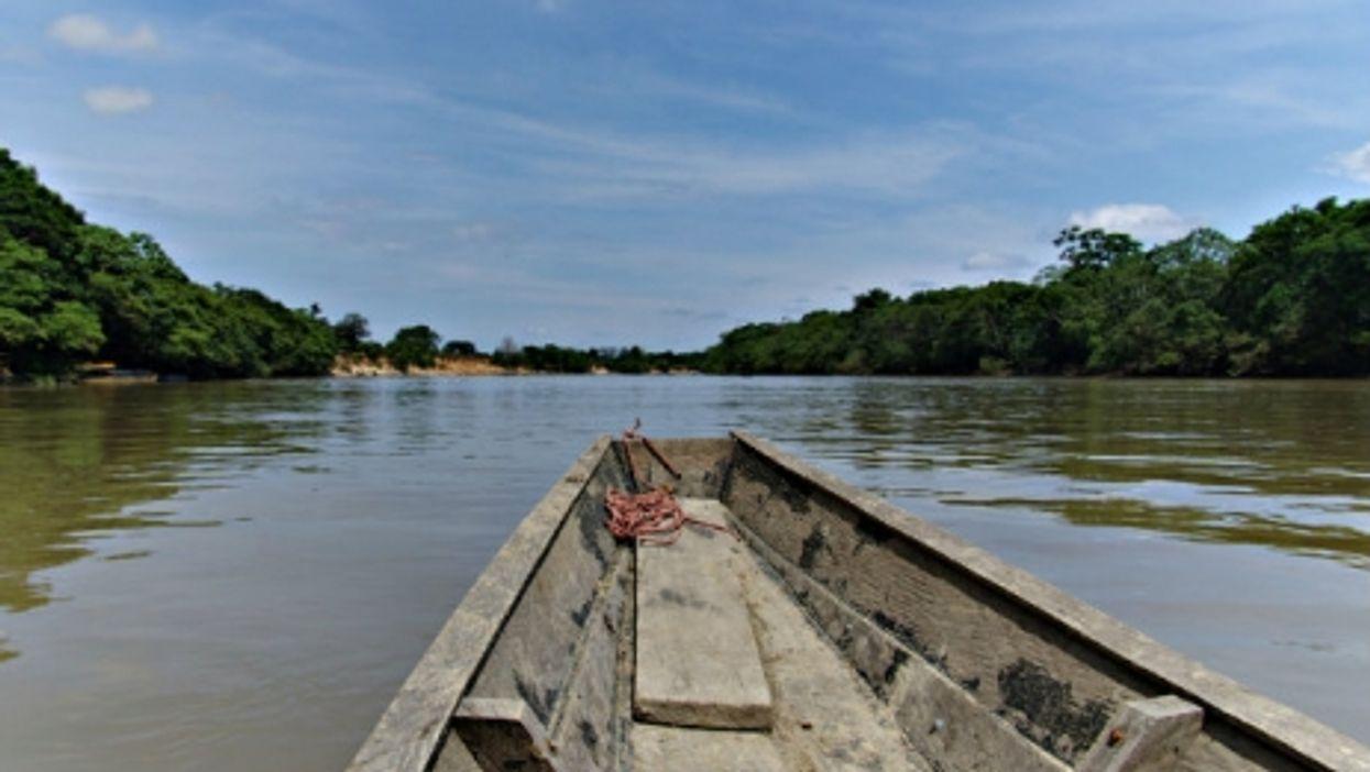 On the Amazon near La Macarena