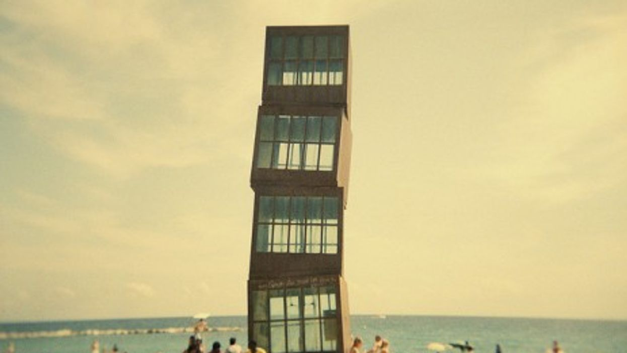 On the beach in Barcelona (C.Y.R.I.L)