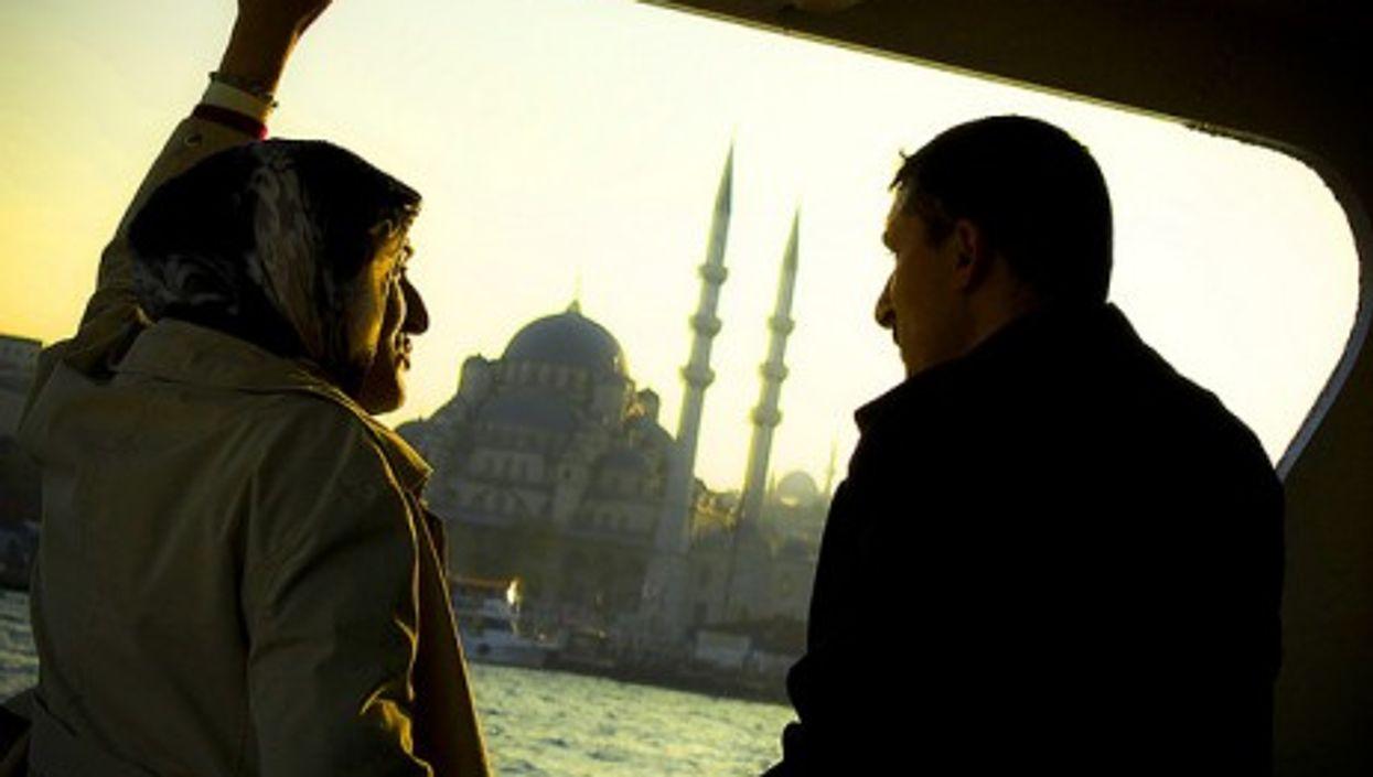 On the Bosporus (overfly)