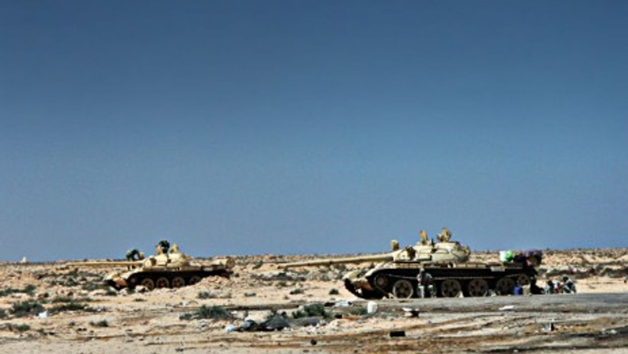 On the Egypt-Libya border