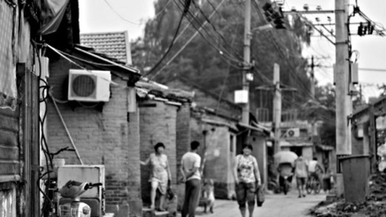 On the fringes, In Beijing