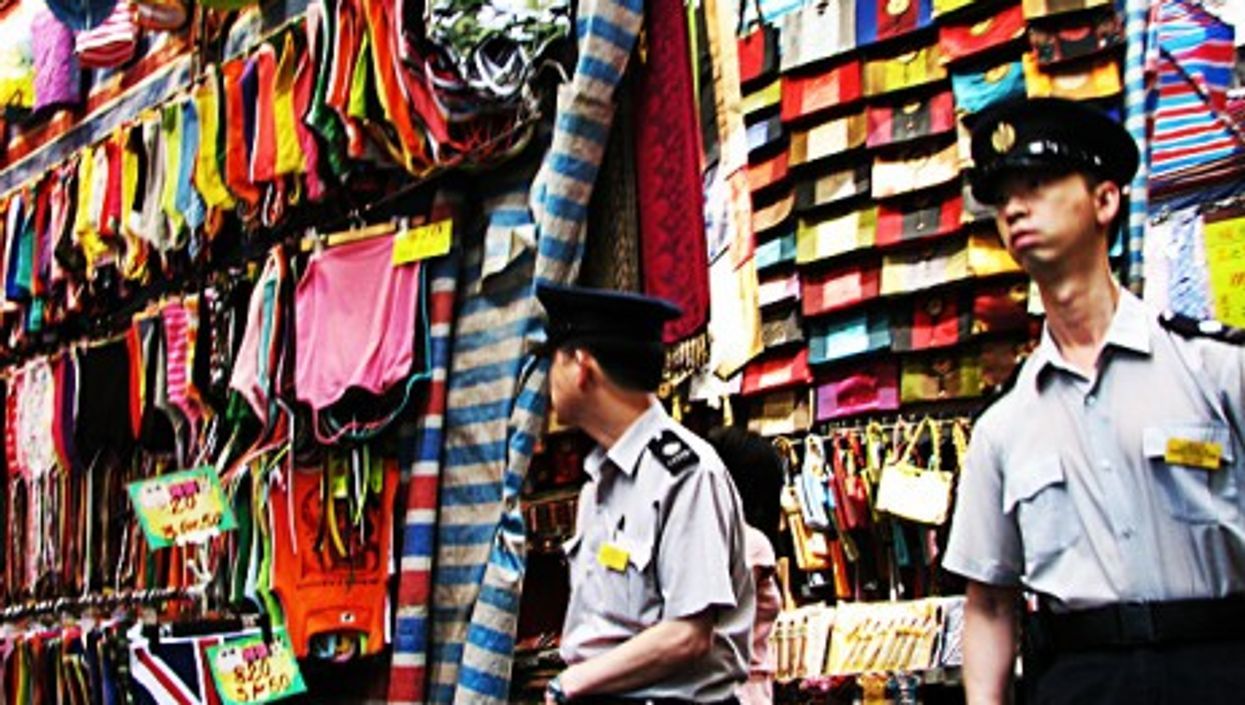 On the lookout for counterfeit goods in Hong Kong