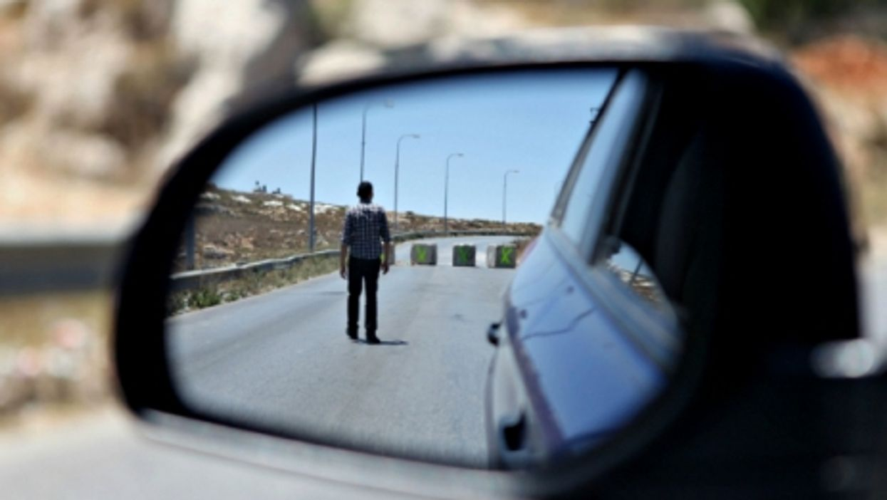 On the road from Ramallah to Nablus