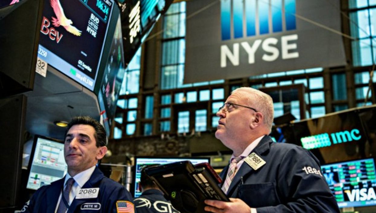 On the trading floor in New York
