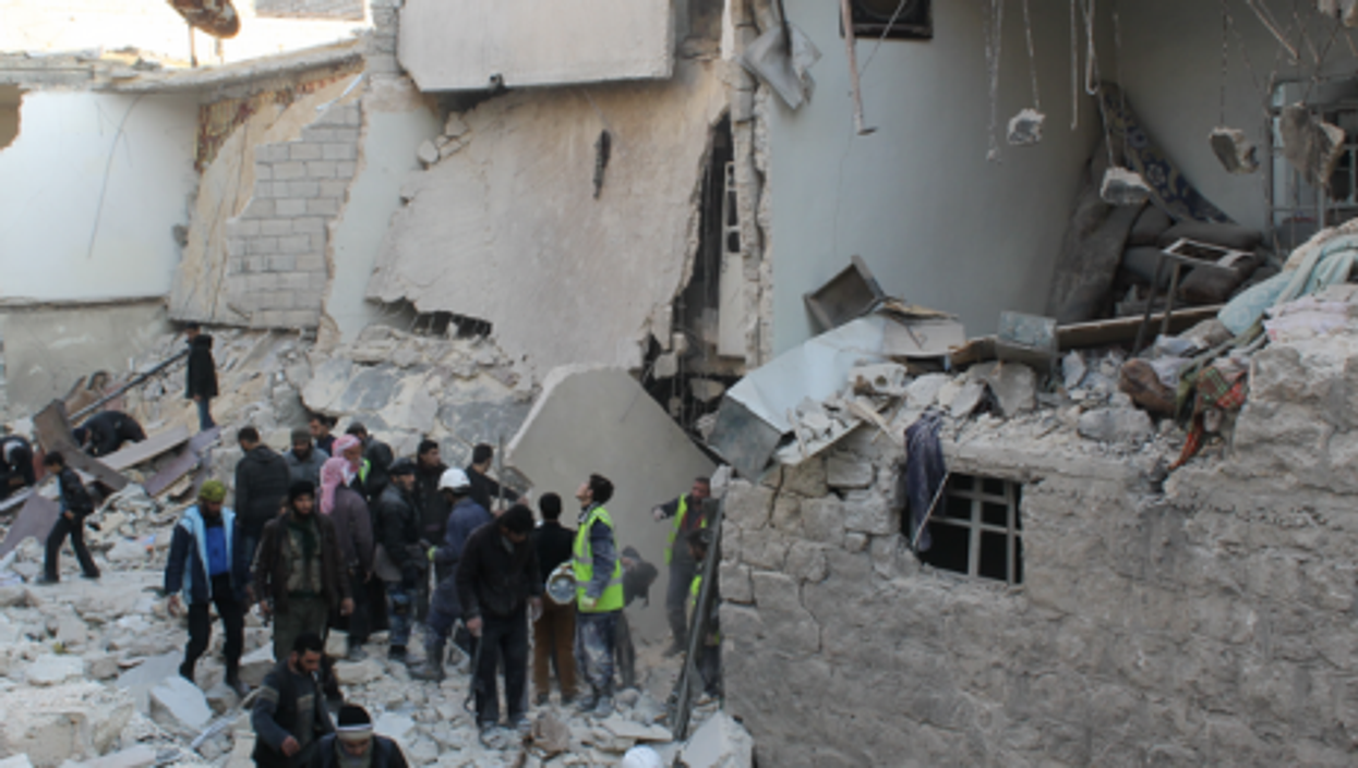Once Syria's thriving economic capital, Aleppo has largely been reduced to rubble