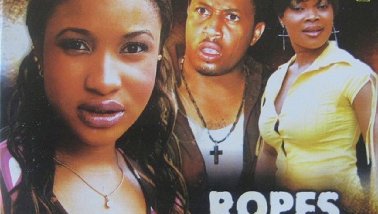 One of the 600 Nigerian films produced each year (Nollywood Forever)