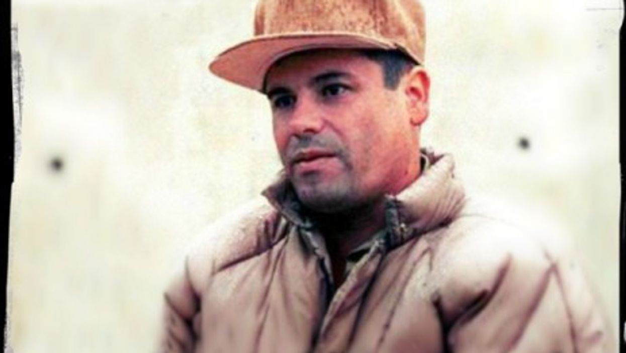 """One of the few pictures of """"El Chapo"""""""
