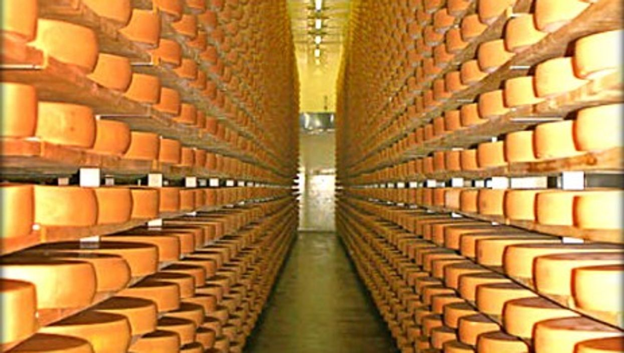One of the many cheese cellars in the Bregenz Forest