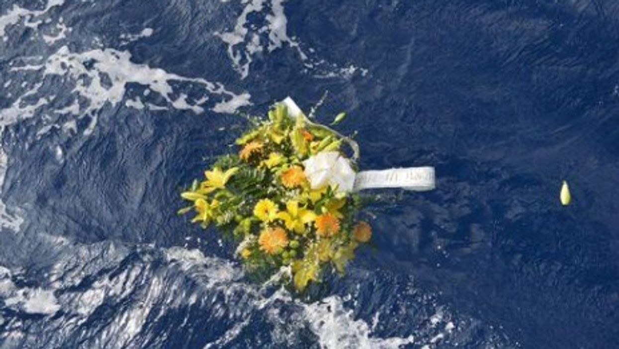 Only 150 of the 500 people on board are thought to have survived the Lampedusa tragedy
