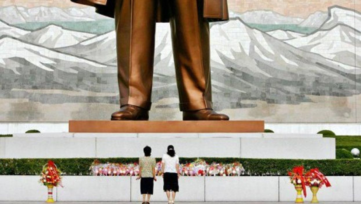 Only one god allowed in North Korea