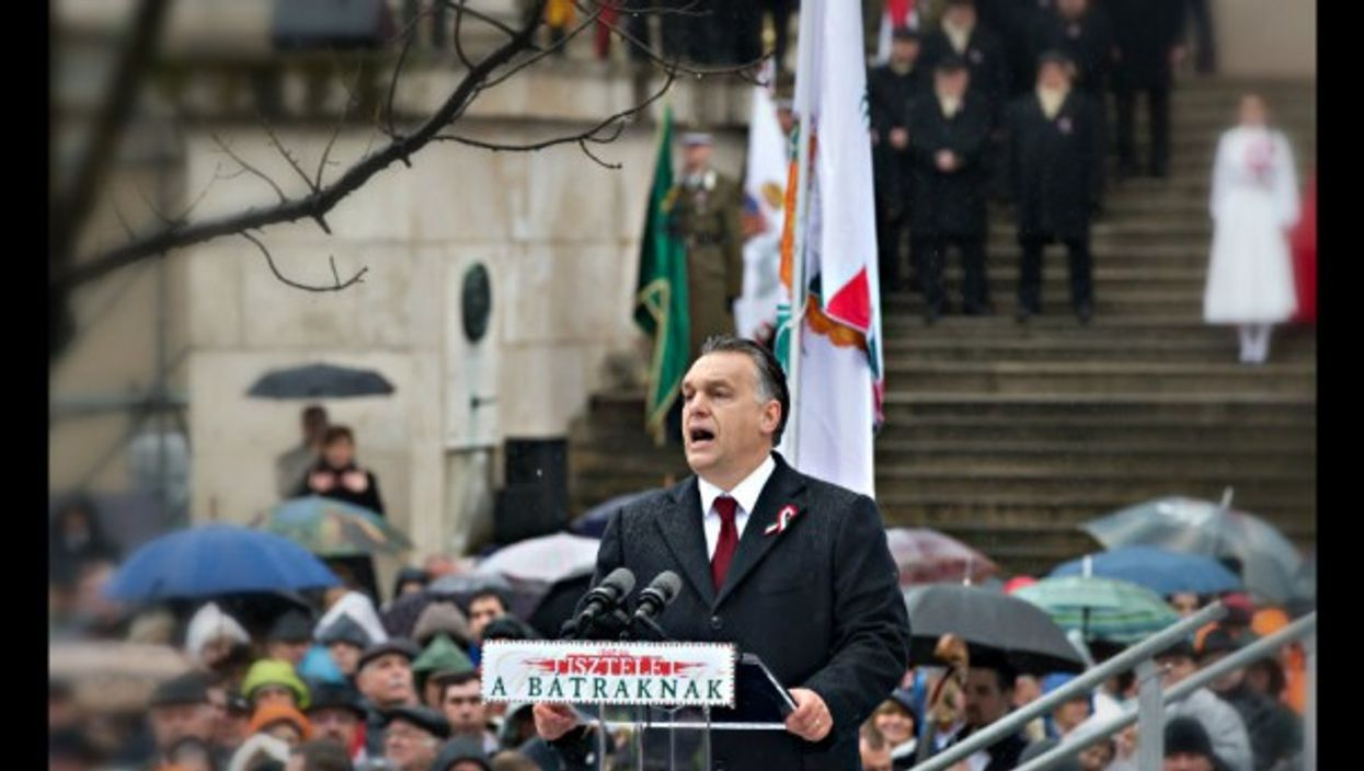 Orban in Budapest