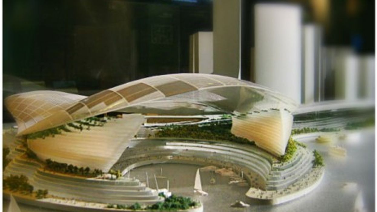 Original design for the West Kowloon Cultural District