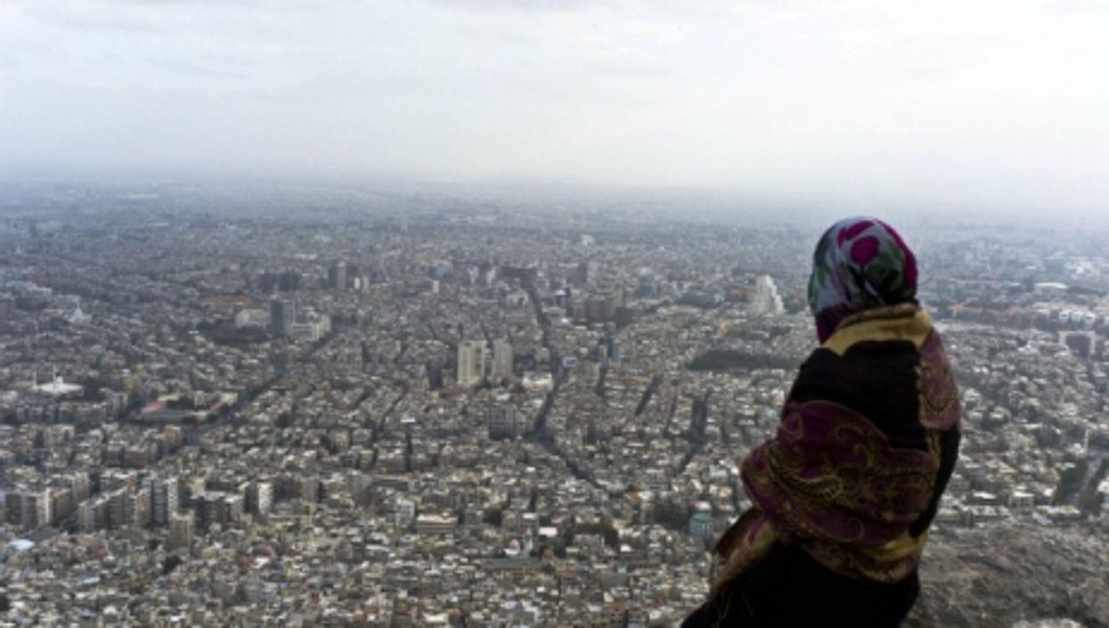 Overlooking Damascus