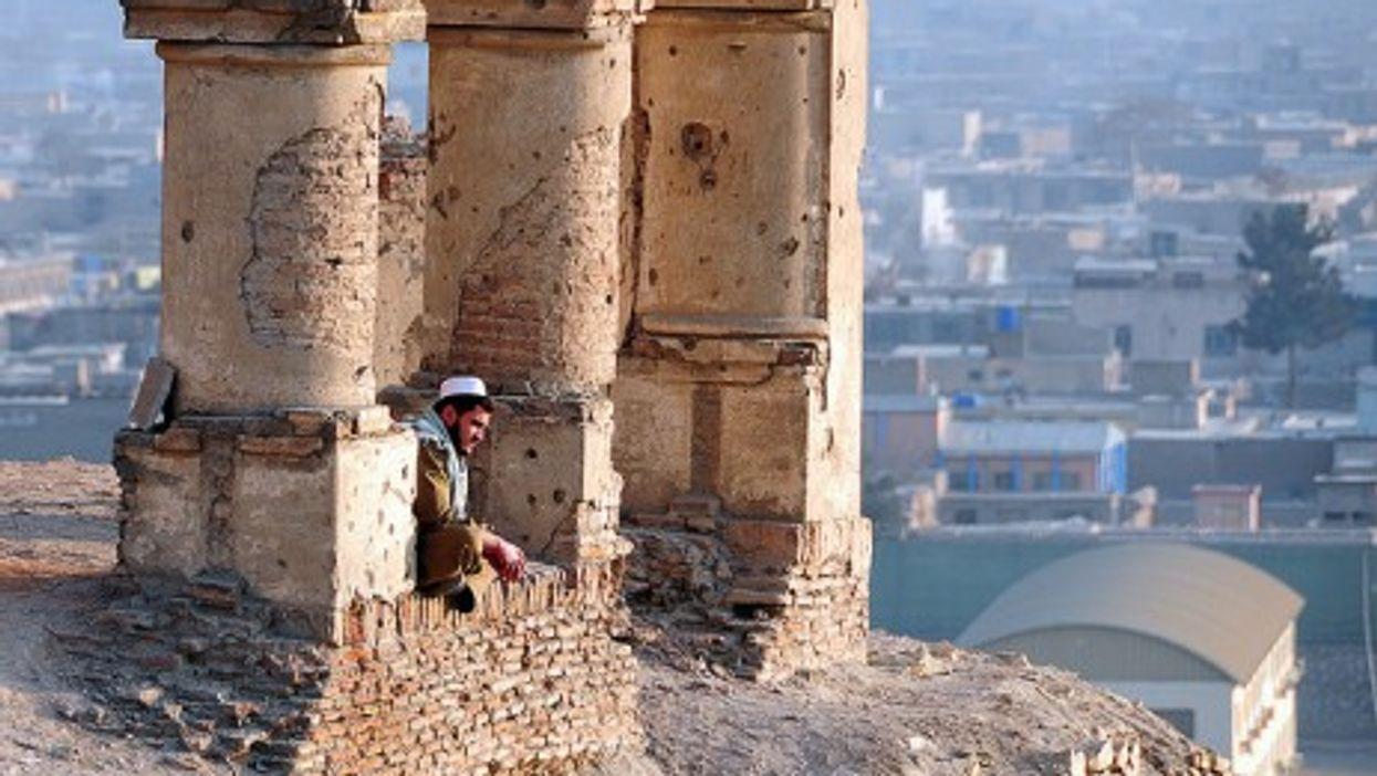 Overlooking Kabul (AfghanistanMatters)