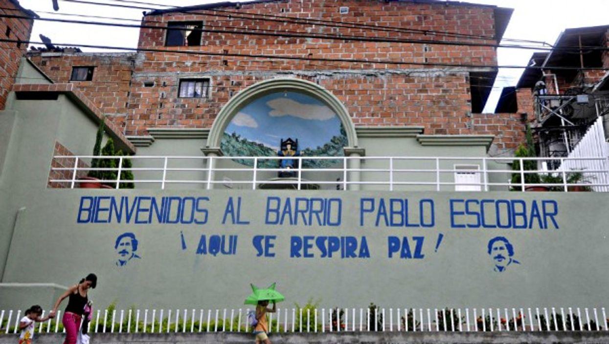 Pablo Escobar neighborhood in Medellín
