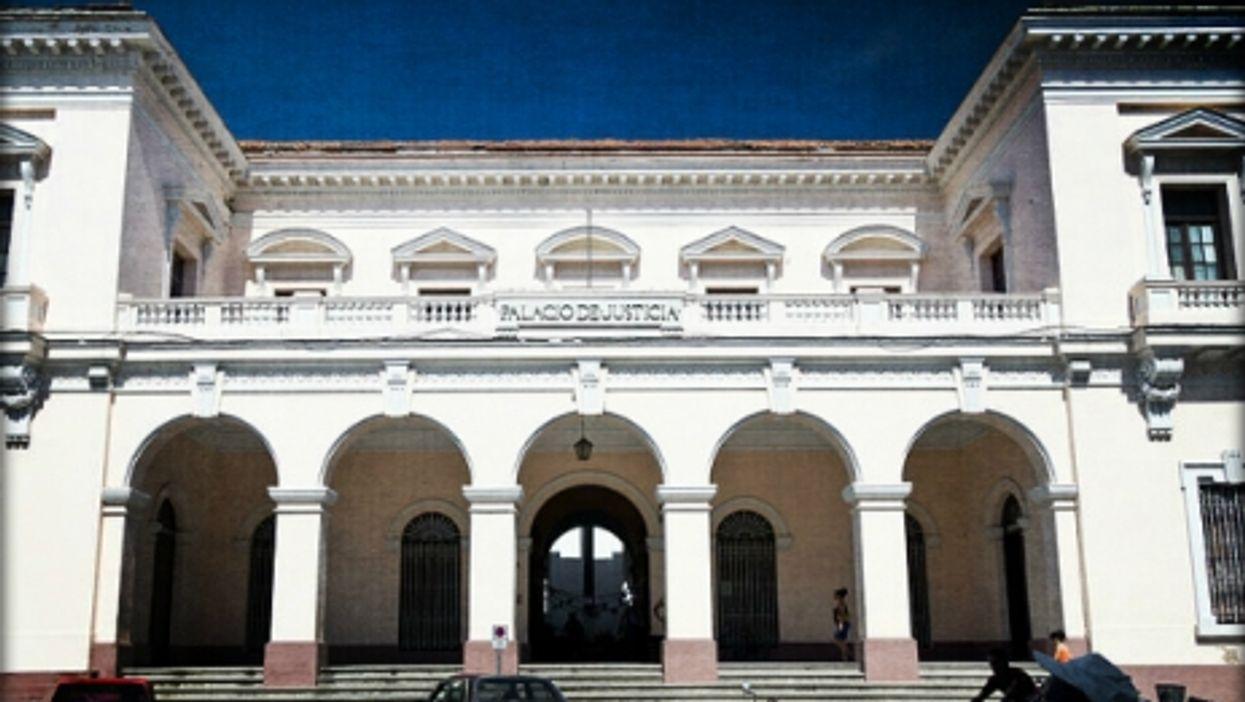 Palacio de Justicia in Mantazas, Cuba
