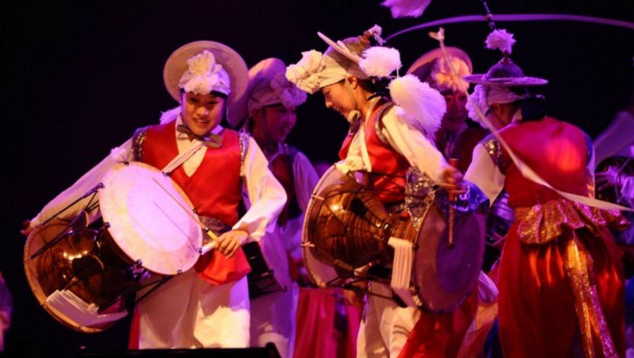 Pansori performers