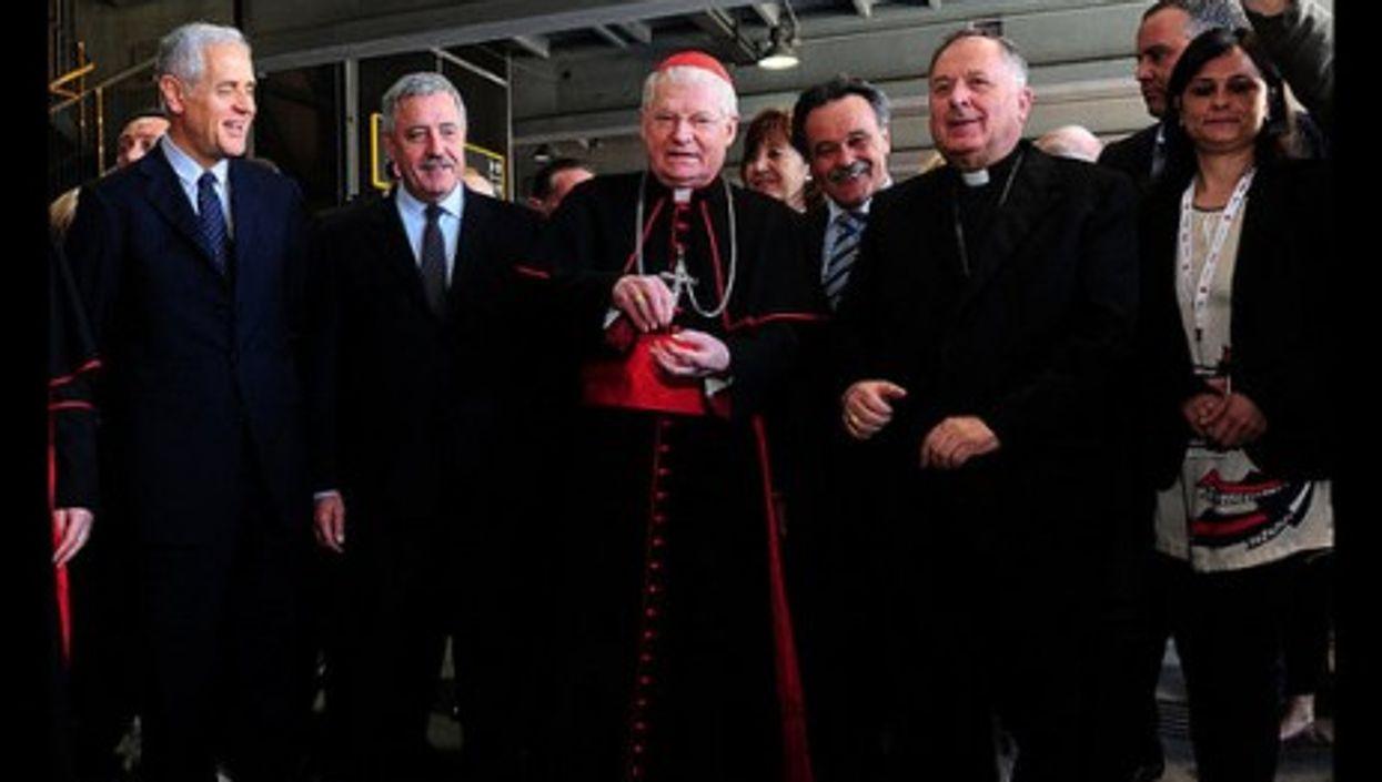 Papal material?