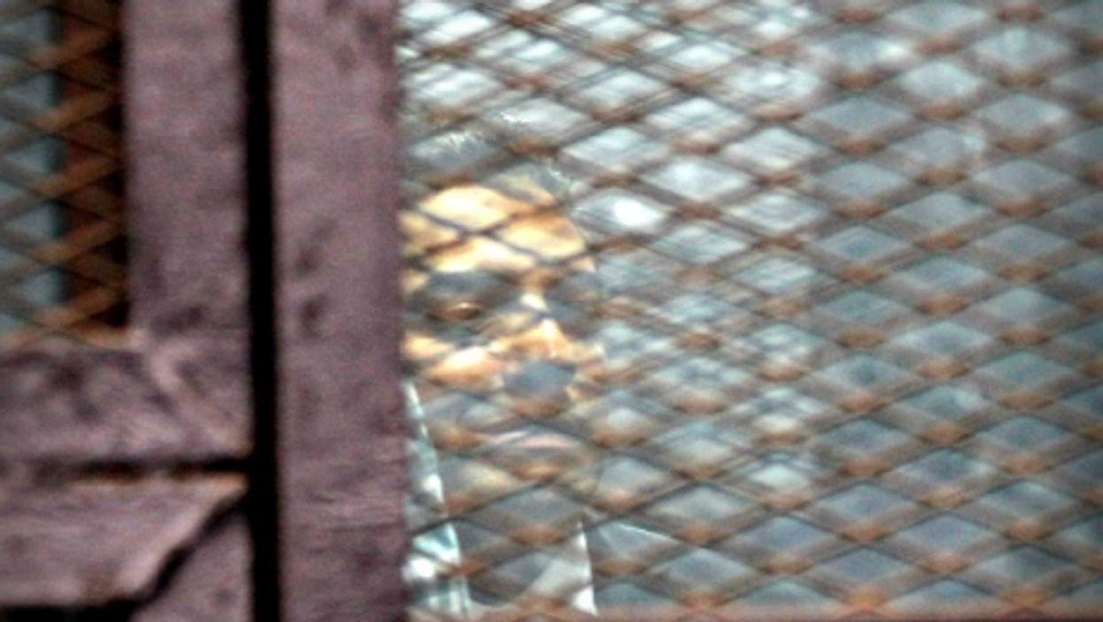 Pardoned Al Jazeera journalist Mohamed Fahmy in Cairo on Aug. 29