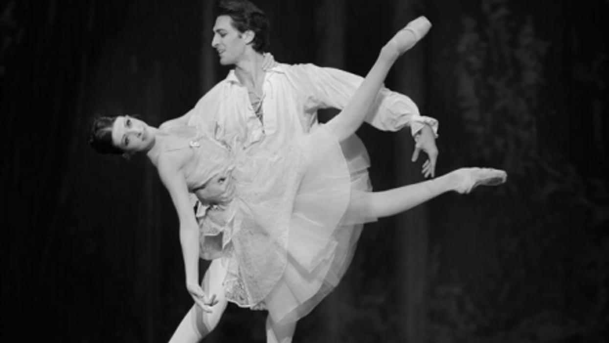 Paris Ballet stars Adenaur and Isabelle Ciaravola