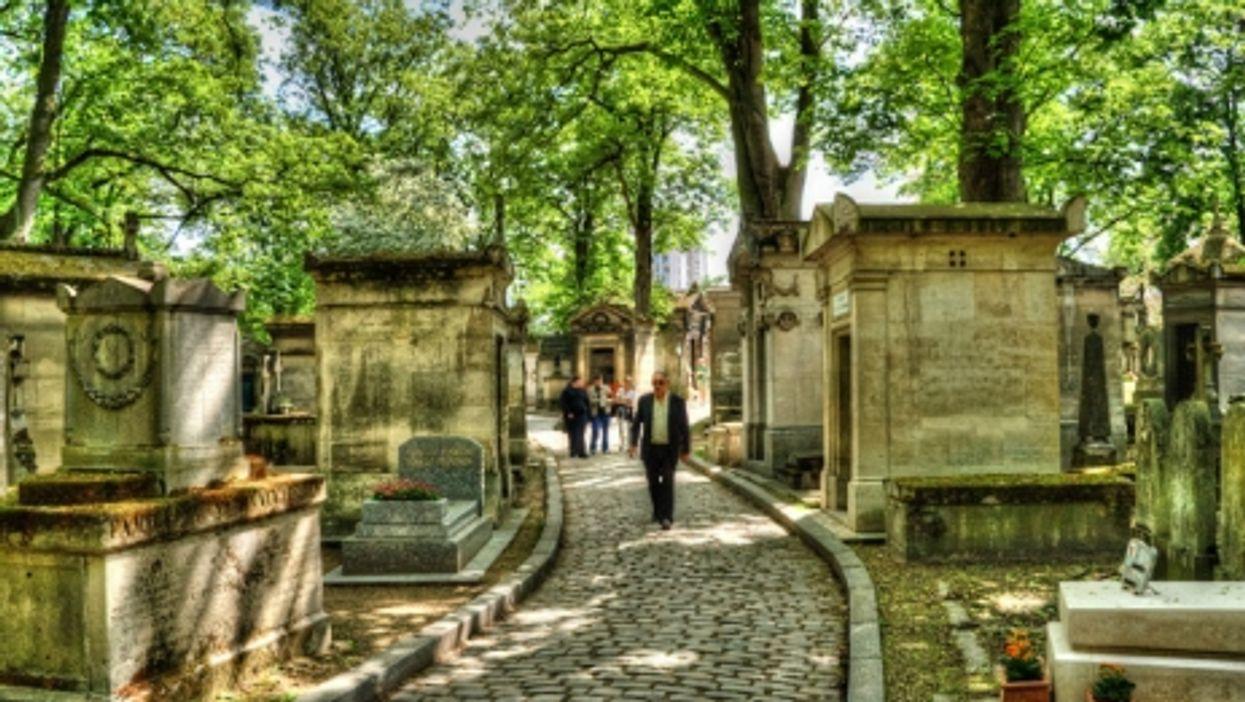 Paris's Père Lachaise cemetery