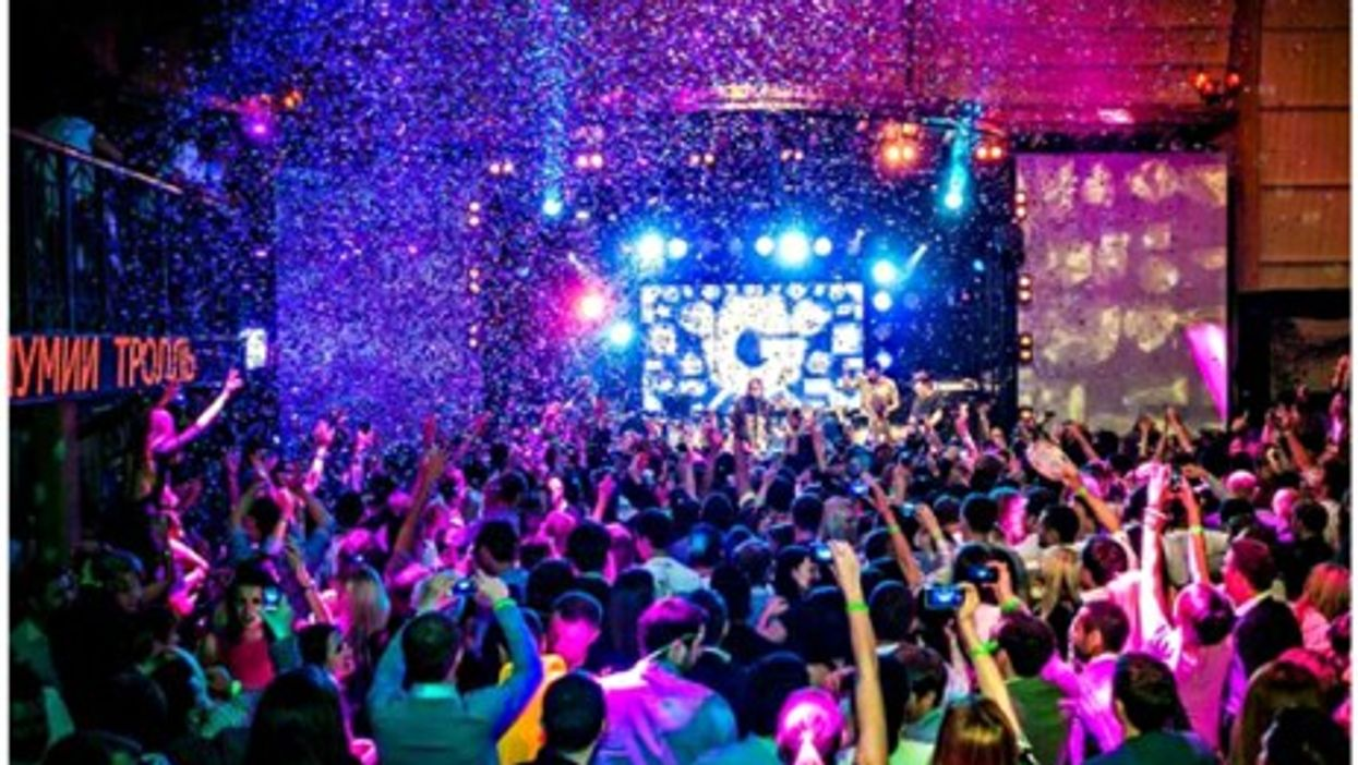 """Partying in Moscow's """"Gipsy"""" club"""