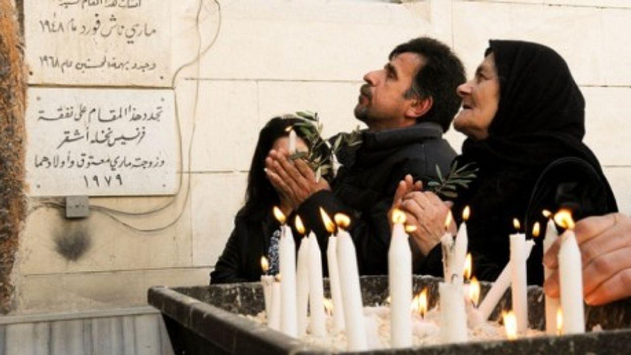 Passion Sunday at the Chaldean Parish in Bab Tuma, Damascus