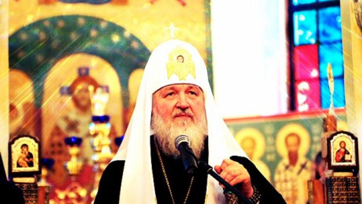 Patriarch Kirill isn't amused