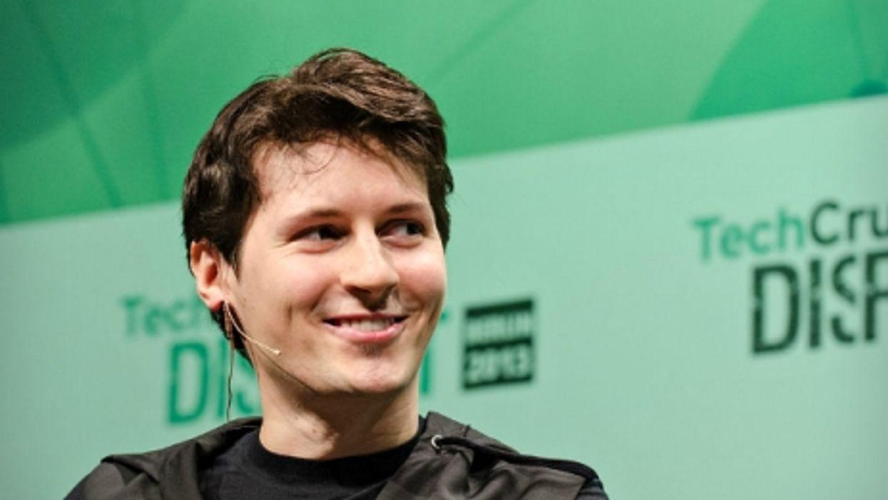 Pavel Durov in Berlin in 2013
